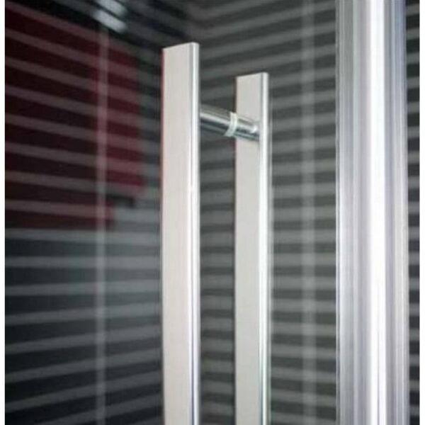 Dušas durvis Round 5211 (caurspīdīgs)